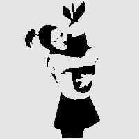 Девочка с фугасом