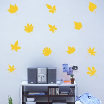 Декоративный узор - осенний листопад