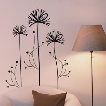 Декоративный узор - креативный цветок