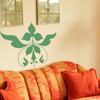 Декоративный узор - орнамент листвы