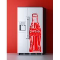 наклейка на холодильник - Кока Кола
