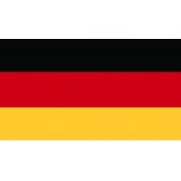 Флаг Германии - наклейка к Oktoberfest