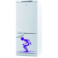 На орбите - наклейка на холодильник