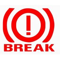 Break, наклейка