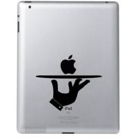 Наклейка на Apple Mac - Вот, сэр.