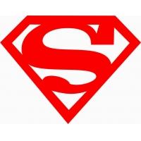 Superman , наклейка