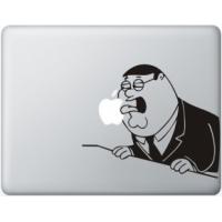 Наклейка на Apple Mac - Гриффин