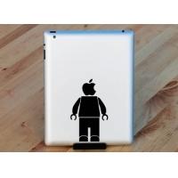 Наклейка на Apple Mac - Голова