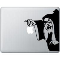 Наклейка на Apple Mac - Ведьма