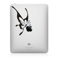 Наклейка на Apple Mac - Бабочка