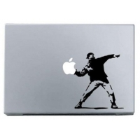 Наклейка на Apple Mac - Бэнкси