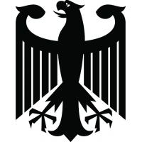 Орел - наклейка к Oktoberfest