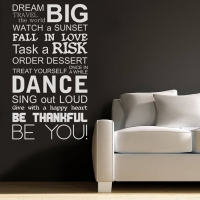 Dream BIG - наклейка