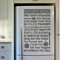Kitchen rules - наклейка