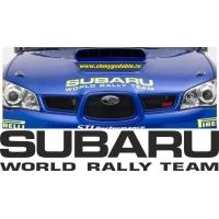 Subaru sport racing team наклейка